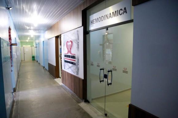 Setor de hemodinâmica do Hospital São José (Foto Meire Borges).