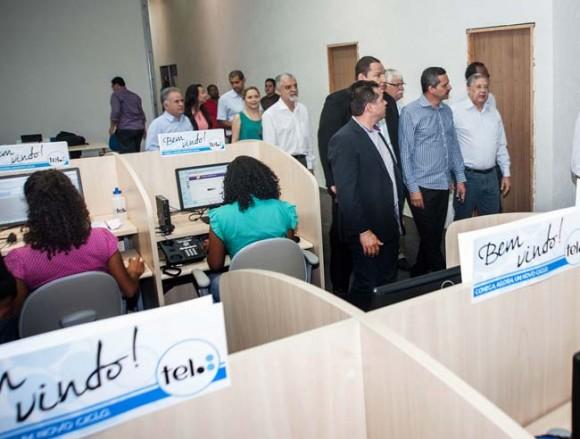 Unidade da Tel gera mil empregos em Itabuna (Foto Pedro Augusto).