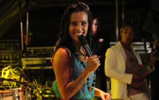 Ju Moraes fará show gratuito na terceira noite do festival.