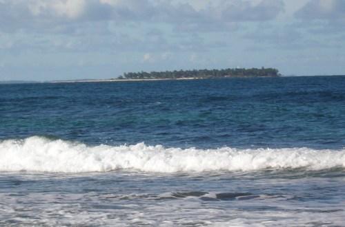 Ilha de Quiepe, na Península de Maraú (Foto Maraú Notícias).